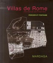 Villas de rome - Intérieur - Format classique