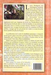 Pots Et Jardinieres - 4ème de couverture - Format classique