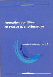 Formation Des Elites En France Et En Allemagne - Intérieur - Format classique