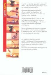 La methode pilates - 4ème de couverture - Format classique