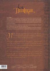 Le décalogue t.3 ; le météore - 4ème de couverture - Format classique