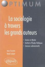La sociologie à travers les grands auteurs - Intérieur - Format classique