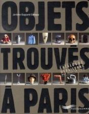 Objets trouvés à paris - Couverture - Format classique