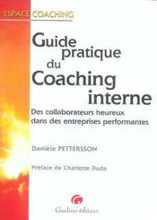 Guide Pratique Du Coaching Interne - Intérieur - Format classique