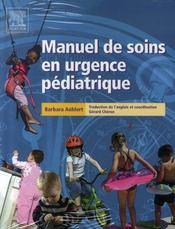 Manuel de soins en urgence pédiatrique - Intérieur - Format classique