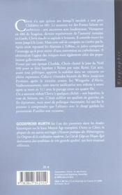 Clovis Le Fondateur - 4ème de couverture - Format classique