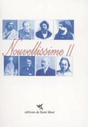 Nouvellissime Ii - Couverture - Format classique