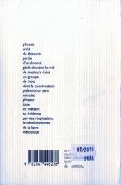 Deux fois cinquante ans de cinéma français - 4ème de couverture - Format classique