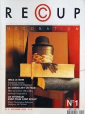 Recup Decoration N°1 du 01/10/1999 - Couverture - Format classique