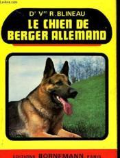 Le Chien De Berger Allemand - Couverture - Format classique