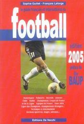 Le Guide Francais Et International Du Football - Intérieur - Format classique