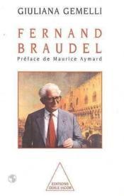 Fernand braudel - Couverture - Format classique