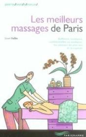 Les meilleurs massages de paris - Couverture - Format classique