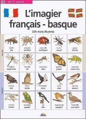 Petit Guide T.160 ; L'Imagier Français-Basque ; 225 Mots Illustrés - Couverture - Format classique