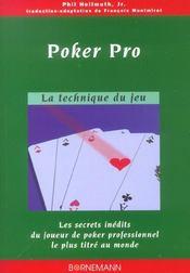 Poker Pro - Intérieur - Format classique