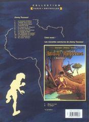 Les nouvelles aventures de Jimmy Tousseul t.8 ; le visage de dieu - 4ème de couverture - Format classique