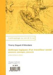 Anthropo-logiques d'un travailleur social ; passeurs, passages, passants - Intérieur - Format classique