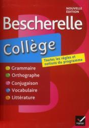 BESCHERELLE ; collège - Couverture - Format classique