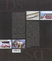 Ds, 50 Ans De Passion - 4ème de couverture - Format classique