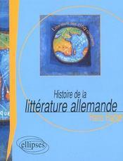 Histoire De La Litterature Allemande - Intérieur - Format classique