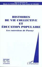 Histoire De La Vie Collective Et Education Populaire - Intérieur - Format classique