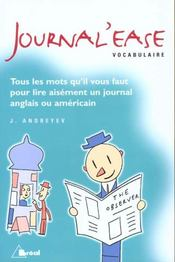 Journal'Ease Vocabulaire  - Judith Andreyev