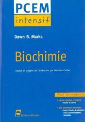 Biochimie pcem intensif pour le concours - Intérieur - Format classique
