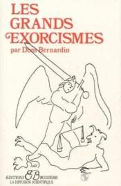 Les grands exorcismes - Couverture - Format classique