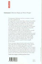 Jusqu'Au Bout Du Monde - 4ème de couverture - Format classique