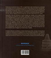 La signification dans l'architecture occidentale - 4ème de couverture - Format classique