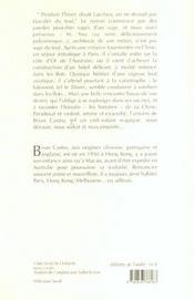 L'Architecte Chinois - 4ème de couverture - Format classique