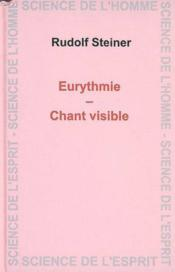 Eurythmie - Chant Visible - Couverture - Format classique