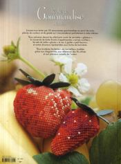 Péché de gourmandise à broder - 4ème de couverture - Format classique