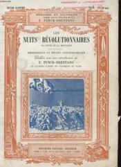 Les Nuits Revolutionnaires - Impressions Et Recits Contemporains - Couverture - Format classique