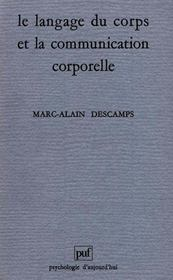 Vente  Langage du corps & communicationco  - Marc-Alain Descamps