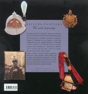 Sapeurs-Pompiers, Un Siecle De Prestige - 4ème de couverture - Format classique