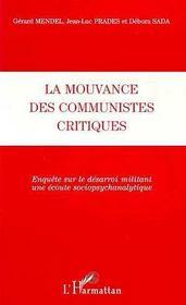 La Mouvance Des Communistes Critiques - Intérieur - Format classique