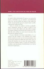 Dans L'Ombre Chaude De L'Islam Babel 226 - 4ème de couverture - Format classique