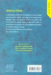Jérémy fisher - 4ème de couverture - Format classique