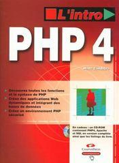 L'Intro Php4 - Intérieur - Format classique
