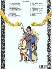 Thorgal T.11 ; Les Yeux De Tanatloc - 4ème de couverture - Format classique