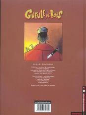 Gueule de bois t.1 ; la fee puzzle - 4ème de couverture - Format classique
