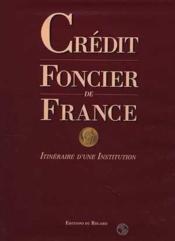 Credit foncier de france - Couverture - Format classique
