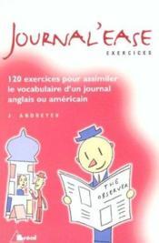 Journal'Ease - Couverture - Format classique