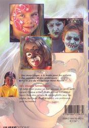 Des Idees De Maquillages Geniales - 4ème de couverture - Format classique