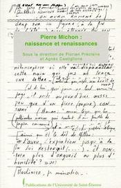 Pierre Michon : naissance et renaissances - Intérieur - Format classique