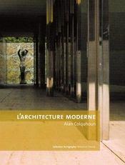 L'Architecture Moderne - Intérieur - Format classique