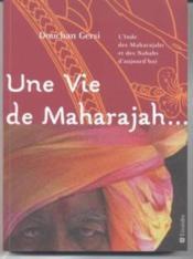 Une Vie De Maharajah - Couverture - Format classique