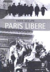 Paris Occupe Paris Libere - Intérieur - Format classique