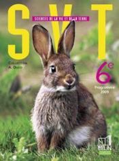 Svt 6ème ; programme 2009 ; petit format - Couverture - Format classique